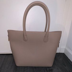 H&M taupe purse